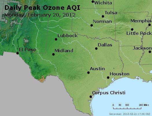 Peak Ozone (8-hour) - http://files.airnowtech.org/airnow/2012/20120220/peak_o3_tx_ok.jpg