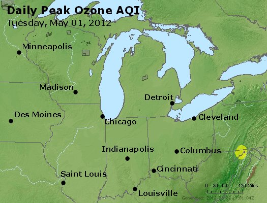 Peak Ozone (8-hour) - http://files.airnowtech.org/airnow/2012/20120501/peak_o3_mi_in_oh.jpg