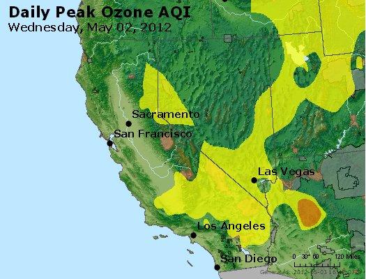 Peak Ozone (8-hour) - http://files.airnowtech.org/airnow/2012/20120502/peak_o3_ca_nv.jpg