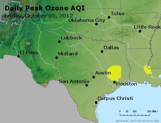 Peak Ozone (8-hour) - http://files.airnowtech.org/airnow/2012/20121005/peak_o3_tx_ok.jpg