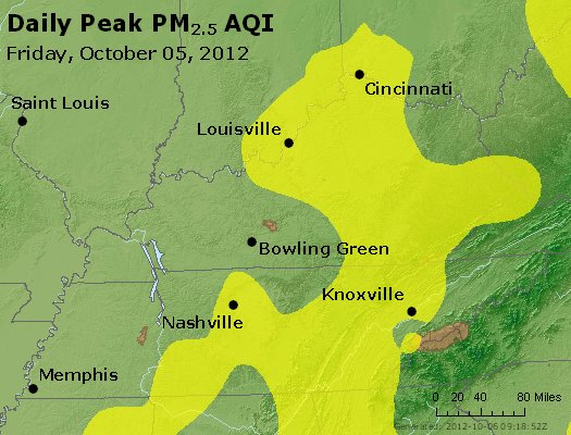 Peak Particles PM<sub>2.5</sub> (24-hour) - http://files.airnowtech.org/airnow/2012/20121005/peak_pm25_ky_tn.jpg