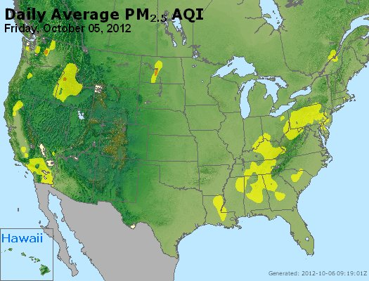 Peak Particles PM<sub>2.5</sub> (24-hour) - http://files.airnowtech.org/airnow/2012/20121005/peak_pm25_usa.jpg