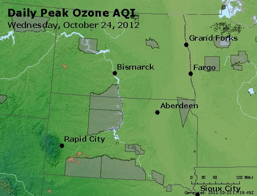 Peak Ozone (8-hour) - http://files.airnowtech.org/airnow/2012/20121024/peak_o3_nd_sd.jpg