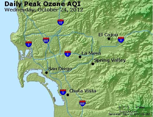 Peak Ozone (8-hour) - http://files.airnowtech.org/airnow/2012/20121024/peak_o3_sandiego_ca.jpg