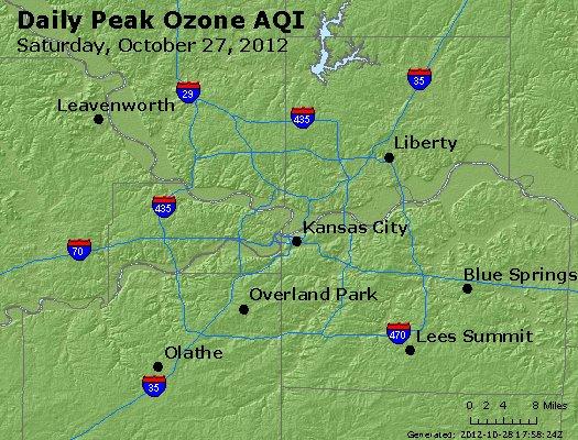 Peak Ozone (8-hour) - http://files.airnowtech.org/airnow/2012/20121027/peak_o3_kansascity_mo.jpg