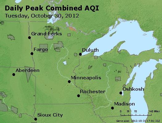 Peak AQI - http://files.airnowtech.org/airnow/2012/20121030/peak_aqi_mn_wi.jpg