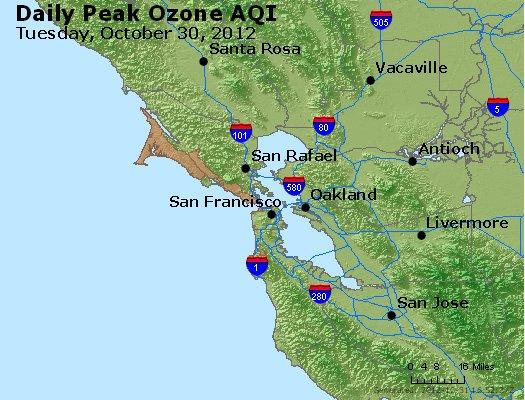 Peak Ozone (8-hour) - http://files.airnowtech.org/airnow/2012/20121030/peak_o3_sanfrancisco_ca.jpg