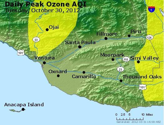 Peak Ozone (8-hour) - http://files.airnowtech.org/airnow/2012/20121030/peak_o3_ventura.jpg