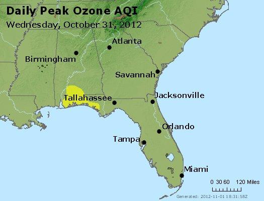 Peak Ozone (8-hour) - http://files.airnowtech.org/airnow/2012/20121031/peak_o3_al_ga_fl.jpg