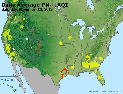 Peak Particles PM<sub>2.5</sub> (24-hour) - http://files.airnowtech.org/airnow/2012/20121103/peak_pm25_usa.jpg