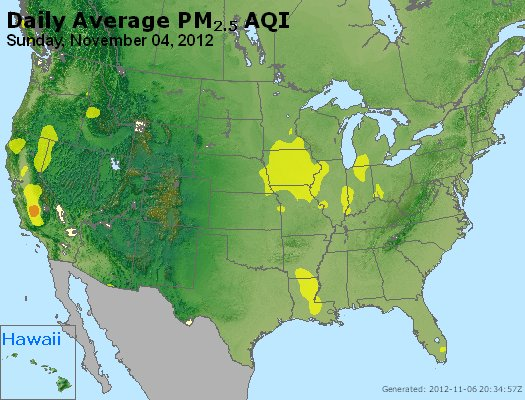 Peak Particles PM<sub>2.5</sub> (24-hour) - http://files.airnowtech.org/airnow/2012/20121105/peak_pm25_usa.jpg