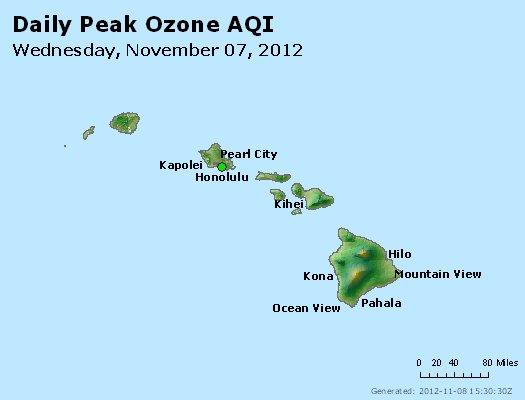 Peak Ozone (8-hour) - http://files.airnowtech.org/airnow/2012/20121107/peak_o3_hawaii.jpg
