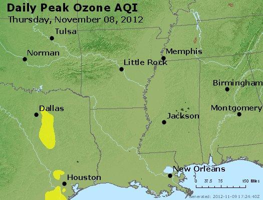 Peak Ozone (8-hour) - http://files.airnowtech.org/airnow/2012/20121108/peak_o3_ar_la_ms.jpg