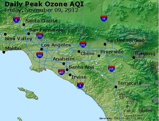 Peak Ozone (8-hour) - http://files.airnowtech.org/airnow/2012/20121109/peak_o3_losangeles_ca.jpg