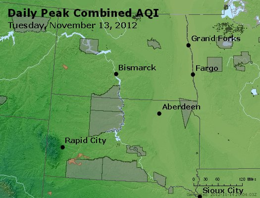 Peak AQI - http://files.airnowtech.org/airnow/2012/20121113/peak_aqi_nd_sd.jpg