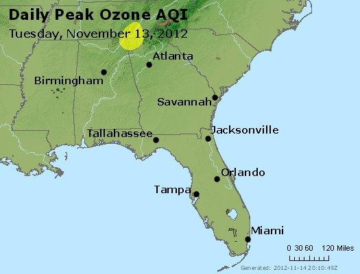 Peak Ozone (8-hour) - http://files.airnowtech.org/airnow/2012/20121113/peak_o3_al_ga_fl.jpg