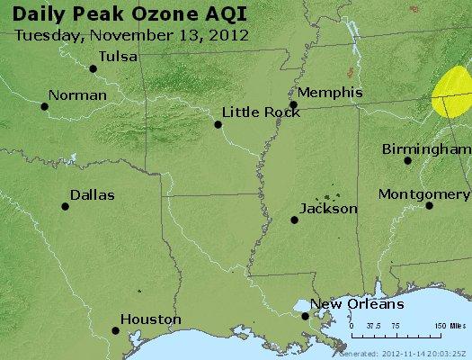 Peak Ozone (8-hour) - http://files.airnowtech.org/airnow/2012/20121113/peak_o3_ar_la_ms.jpg