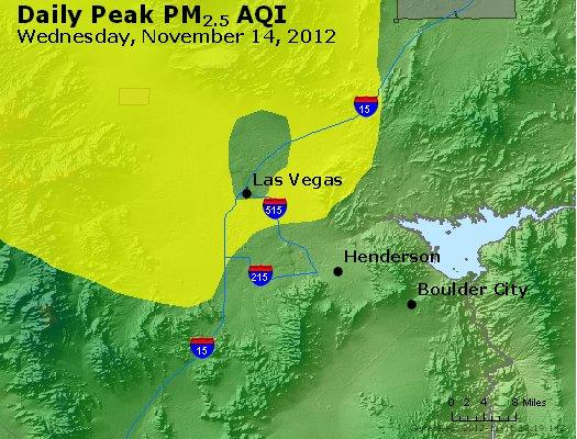 Peak Particles PM<sub>2.5</sub> (24-hour) - http://files.airnowtech.org/airnow/2012/20121114/peak_pm25_lasvegas_nv.jpg