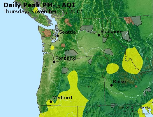 Peak Particles PM<sub>2.5</sub> (24-hour) - http://files.airnowtech.org/airnow/2012/20121115/peak_pm25_wa_or.jpg