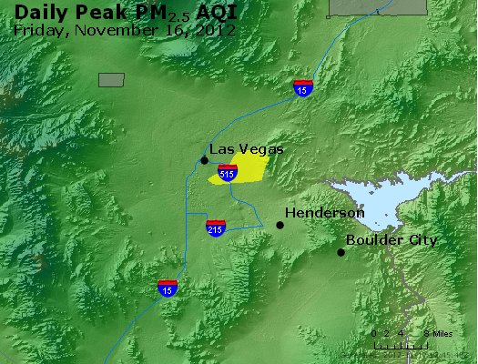 Peak Particles PM<sub>2.5</sub> (24-hour) - http://files.airnowtech.org/airnow/2012/20121116/peak_pm25_lasvegas_nv.jpg