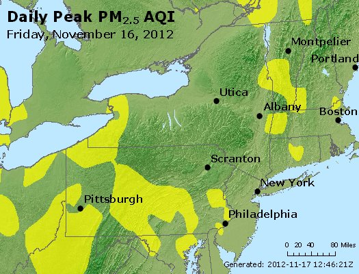 Peak Particles PM<sub>2.5</sub> (24-hour) - http://files.airnowtech.org/airnow/2012/20121116/peak_pm25_ny_pa_nj.jpg