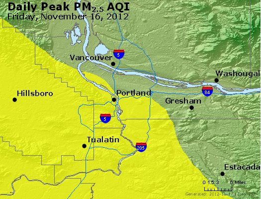 Peak Particles PM<sub>2.5</sub> (24-hour) - http://files.airnowtech.org/airnow/2012/20121116/peak_pm25_portland_or.jpg