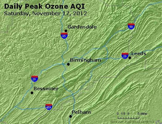 Peak Ozone (8-hour) - http://files.airnowtech.org/airnow/2012/20121117/peak_o3_birmingham_al.jpg