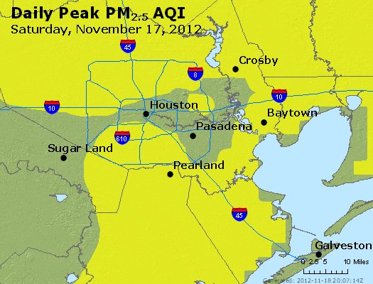 Peak Particles PM<sub>2.5</sub> (24-hour) - http://files.airnowtech.org/airnow/2012/20121117/peak_pm25_houston_tx.jpg