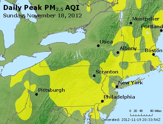 Peak Particles PM<sub>2.5</sub> (24-hour) - http://files.airnowtech.org/airnow/2012/20121118/peak_pm25_ny_pa_nj.jpg