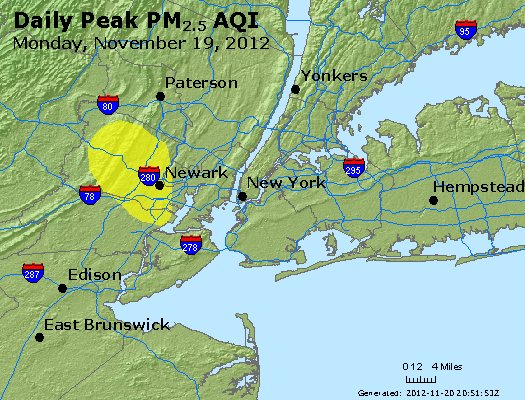 Peak Particles PM<sub>2.5</sub> (24-hour) - http://files.airnowtech.org/airnow/2012/20121119/peak_pm25_newyork_ny.jpg