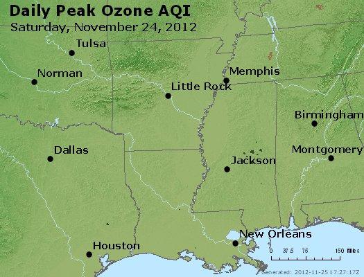 Peak Ozone (8-hour) - http://files.airnowtech.org/airnow/2012/20121124/peak_o3_ar_la_ms.jpg