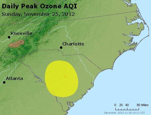 Peak Ozone (8-hour) - http://files.airnowtech.org/airnow/2012/20121125/peak_o3_nc_sc.jpg