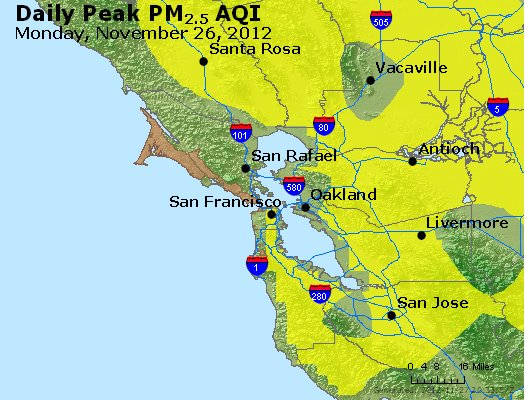 Peak Particles PM<sub>2.5</sub> (24-hour) - http://files.airnowtech.org/airnow/2012/20121126/peak_pm25_sanfrancisco_ca.jpg