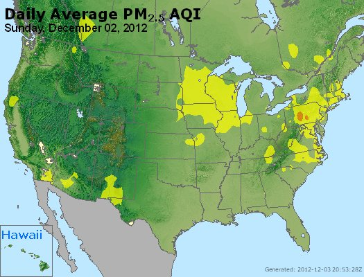 Peak Particles PM<sub>2.5</sub> (24-hour) - http://files.airnowtech.org/airnow/2012/20121202/peak_pm25_usa.jpg