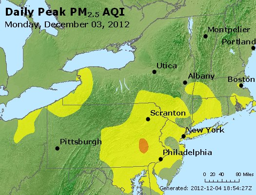 Peak Particles PM<sub>2.5</sub> (24-hour) - http://files.airnowtech.org/airnow/2012/20121203/peak_pm25_ny_pa_nj.jpg