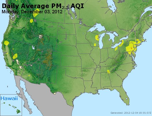 Peak Particles PM<sub>2.5</sub> (24-hour) - http://files.airnowtech.org/airnow/2012/20121203/peak_pm25_usa.jpg