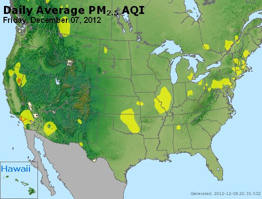 Peak Particles PM<sub>2.5</sub> (24-hour) - http://files.airnowtech.org/airnow/2012/20121207/peak_pm25_usa.jpg