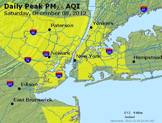 Peak Particles PM<sub>2.5</sub> (24-hour) - http://files.airnowtech.org/airnow/2012/20121208/peak_pm25_newyork_ny.jpg