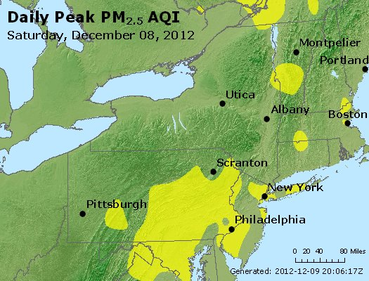Peak Particles PM<sub>2.5</sub> (24-hour) - http://files.airnowtech.org/airnow/2012/20121208/peak_pm25_ny_pa_nj.jpg