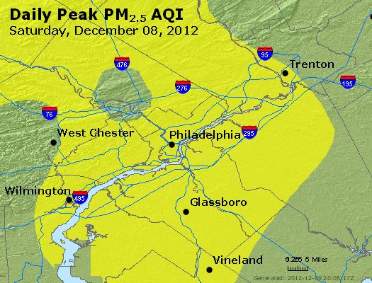 Peak Particles PM<sub>2.5</sub> (24-hour) - http://files.airnowtech.org/airnow/2012/20121208/peak_pm25_philadelphia_pa.jpg