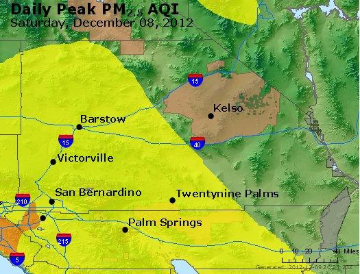 Peak Particles PM<sub>2.5</sub> (24-hour) - http://files.airnowtech.org/airnow/2012/20121208/peak_pm25_sanbernardino_ca.jpg