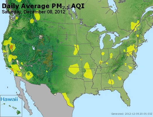 Peak Particles PM<sub>2.5</sub> (24-hour) - http://files.airnowtech.org/airnow/2012/20121208/peak_pm25_usa.jpg