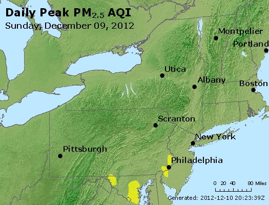 Peak Particles PM<sub>2.5</sub> (24-hour) - http://files.airnowtech.org/airnow/2012/20121209/peak_pm25_ny_pa_nj.jpg