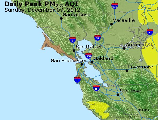 Peak Particles PM<sub>2.5</sub> (24-hour) - http://files.airnowtech.org/airnow/2012/20121209/peak_pm25_sanfrancisco_ca.jpg