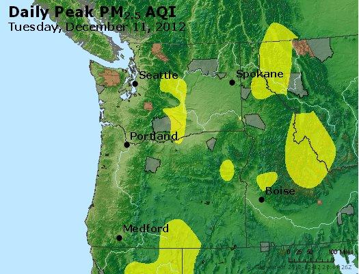 Peak Particles PM<sub>2.5</sub> (24-hour) - http://files.airnowtech.org/airnow/2012/20121211/peak_pm25_wa_or.jpg