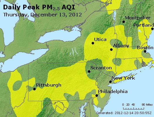 Peak Particles PM<sub>2.5</sub> (24-hour) - http://files.airnowtech.org/airnow/2012/20121213/peak_pm25_ny_pa_nj.jpg