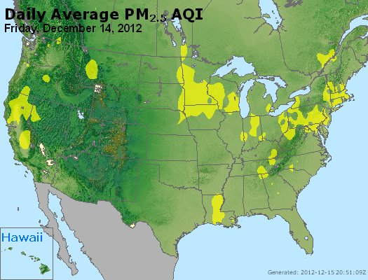 Peak Particles PM<sub>2.5</sub> (24-hour) - http://files.airnowtech.org/airnow/2012/20121214/peak_pm25_usa.jpg
