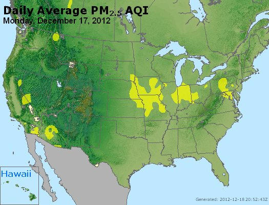 Peak Particles PM<sub>2.5</sub> (24-hour) - http://files.airnowtech.org/airnow/2012/20121217/peak_pm25_usa.jpg