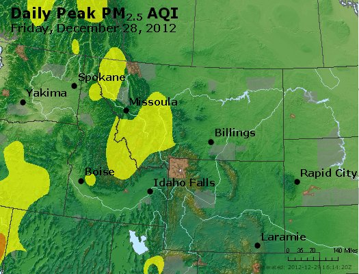 Peak Particles PM<sub>2.5</sub> (24-hour) - http://files.airnowtech.org/airnow/2012/20121228/peak_pm25_mt_id_wy.jpg