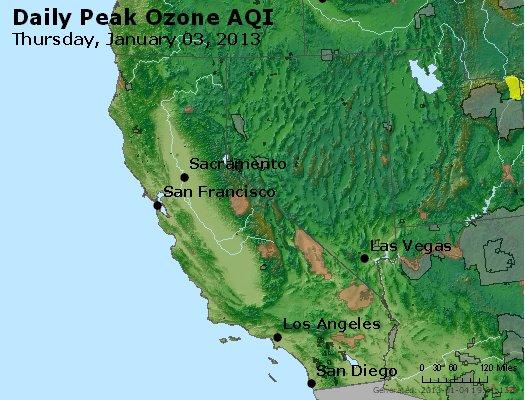 Peak Ozone (8-hour) - http://files.airnowtech.org/airnow/2013/20130103/peak_o3_ca_nv.jpg